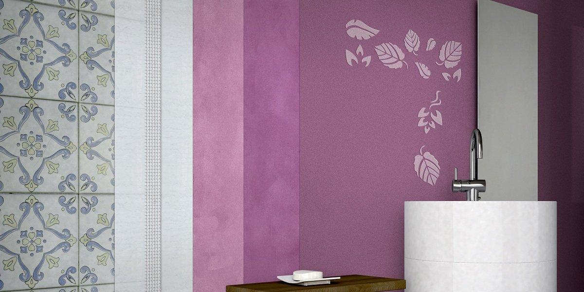 Immagini di pareti pitturate in vetroresina - Togliere piastrelle bagno ...