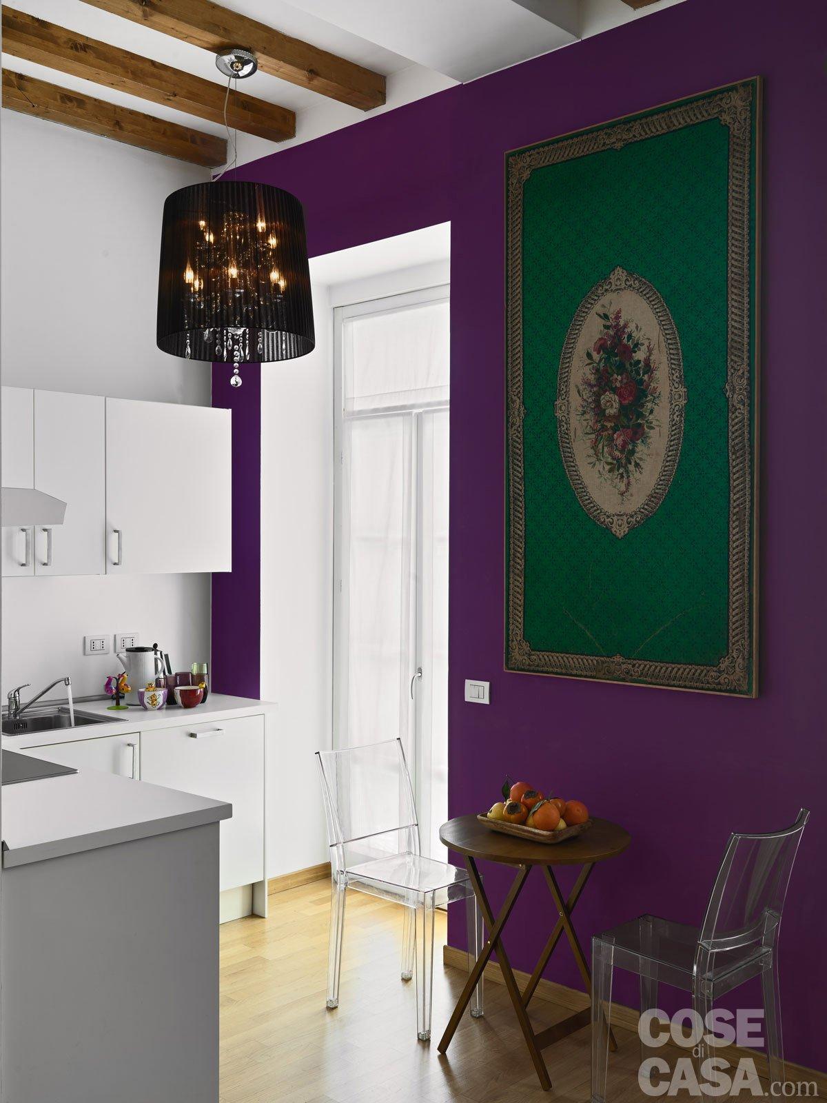 Una casa di 33 mq: monolocale d'effetto   cose di casa