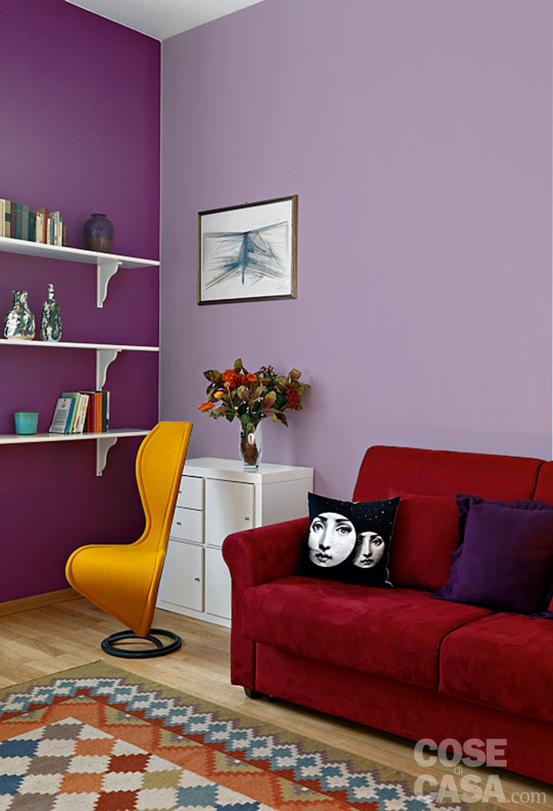 Pitturare le pareti i trucchi che ingannano l occhio for Lo space senza pareti