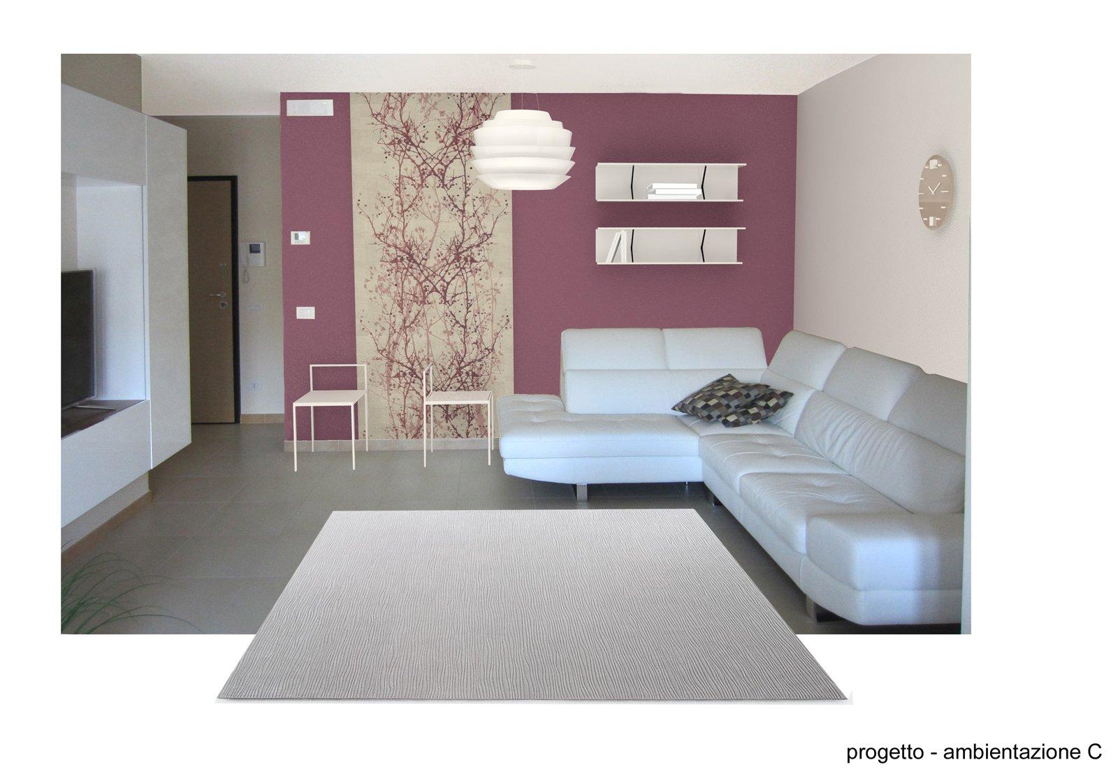Abbinamento colori soggiorno cucina idee per il design della casa - Colori cucina pareti ...