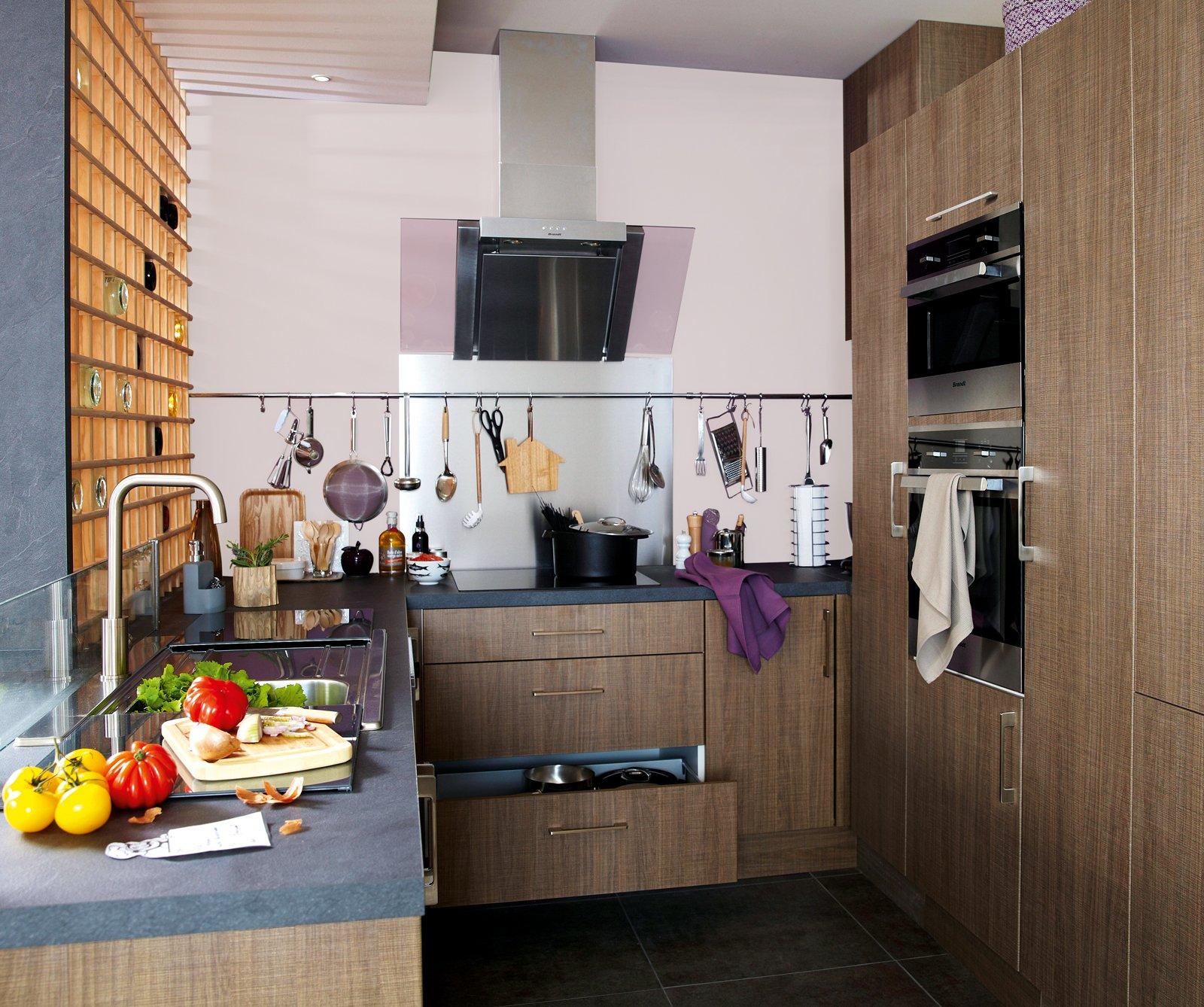 Cucine Piccole Complete Di Tutto Quello Cui Non Si Può Rinunciare  #9E642D 1600 1338 Pensili E Basi Cucina Ikea