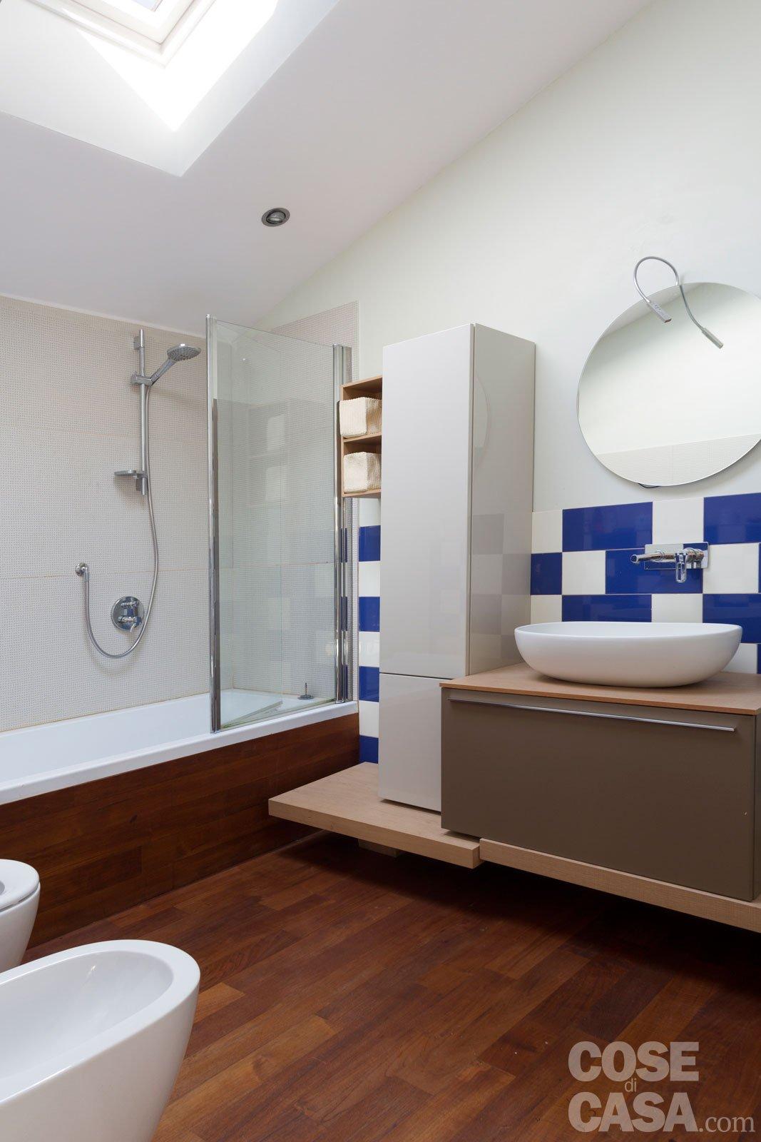 Da sottotetto a mansarda abitabile un progetto a misura di famiglia cose di casa - Bagno sottotetto ...