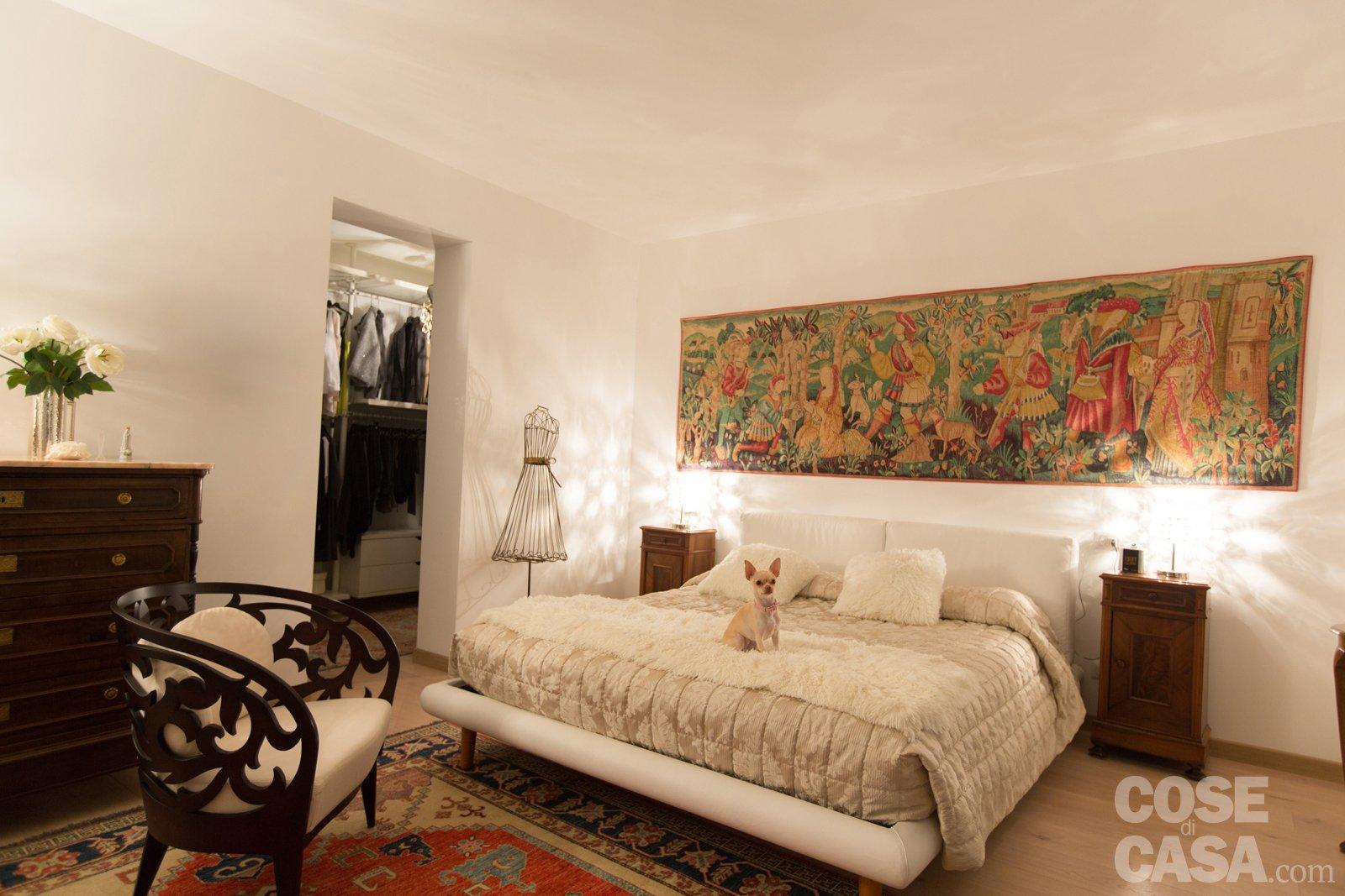 Pi luce nell 39 attico con mansarda cose di casa - Camera da letto antica ...