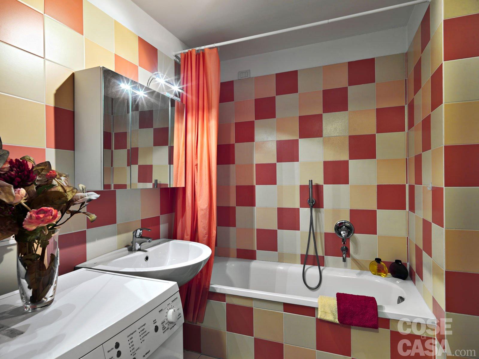 Una casa di 33 mq monolocale d 39 effetto cose di casa for Bagno 7 mq