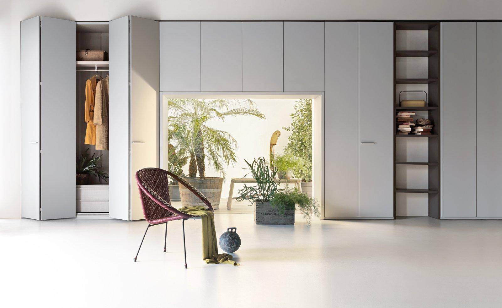 armadio al centimetro: per sfruttare lo spazio con soluzioni ... - Costruito Nel Design Armadio