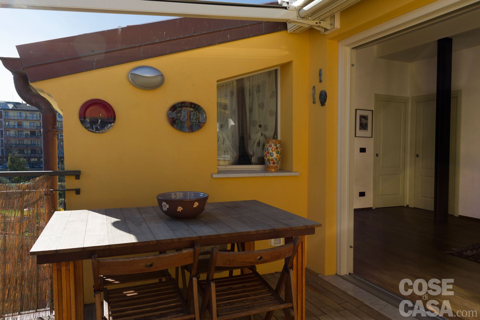 Da sottotetto a mansarda abitabile un progetto a misura - Rivestimento terrazzo ...
