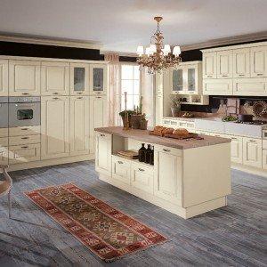 Cucine country chic: soprattutto bianche o tinta legno - Cose di Casa