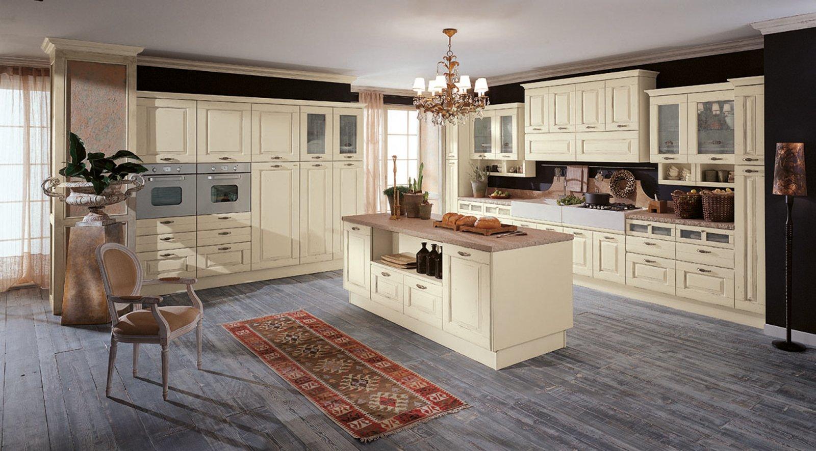 Popolare Cucine country chic: soprattutto bianche o tinta legno - Cose di Casa OK85