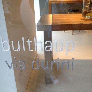Bulthaup via Durini