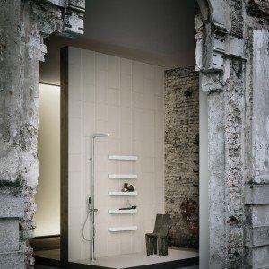 Pætchwork/ Collection, firmata da Piero Lissoni, un'inedita gamma di rivestimenti, sanitari, rubinetteria e complementi.