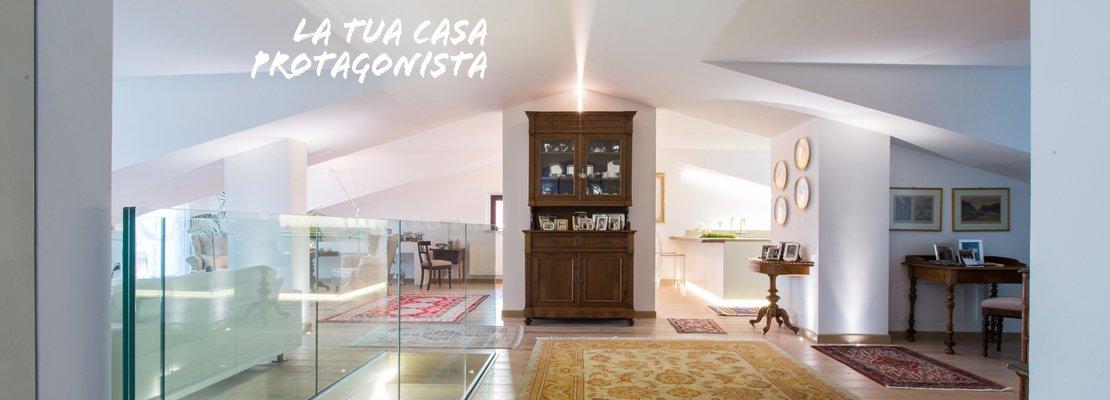 Pi luce nell 39 attico con mansarda cose di casa - Scale appartamento interne ...