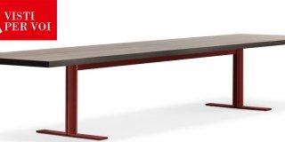 Tavoli: al Salone del Mobile 2015 prevale l'essenzialità