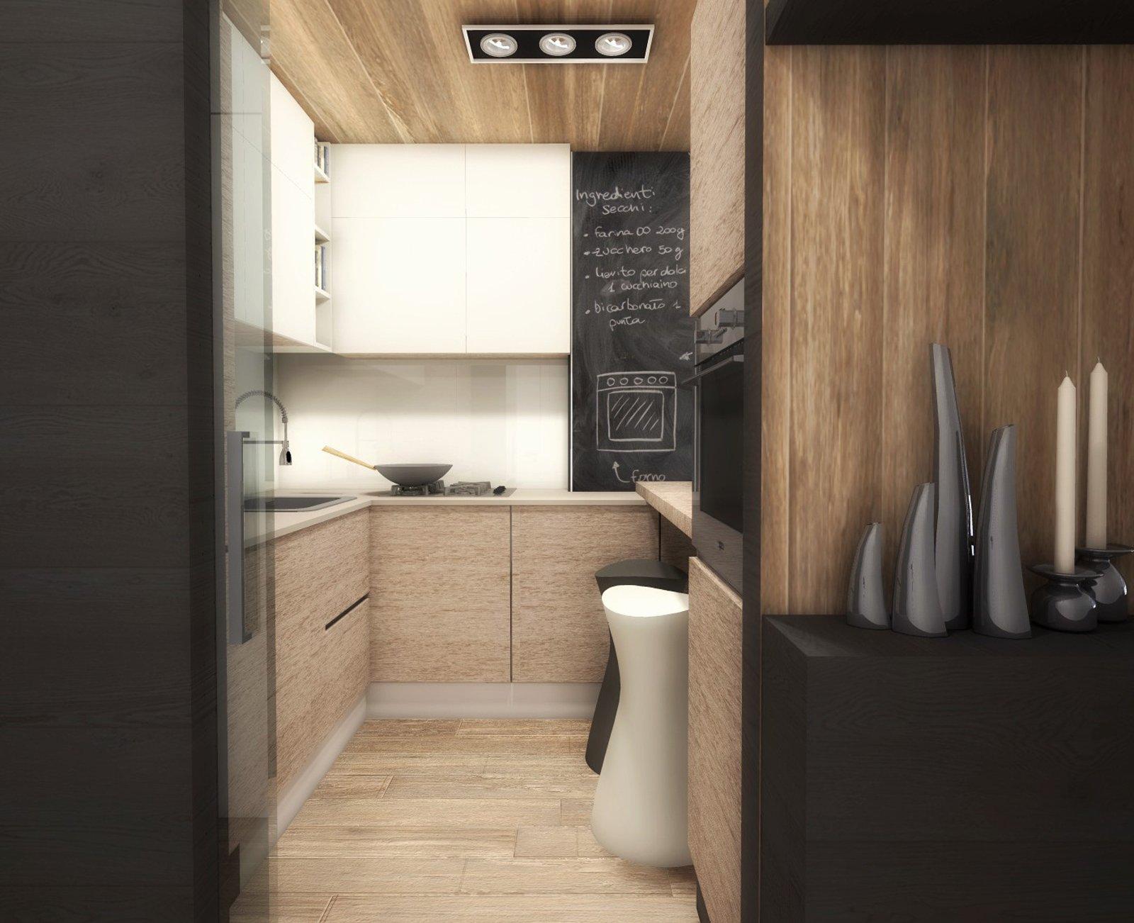 Ricavare la cucina nel soggiorno con una chiusura parziale - Cose di Casa
