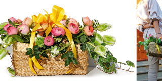 Per la festa della mamma, una borsa fiorita