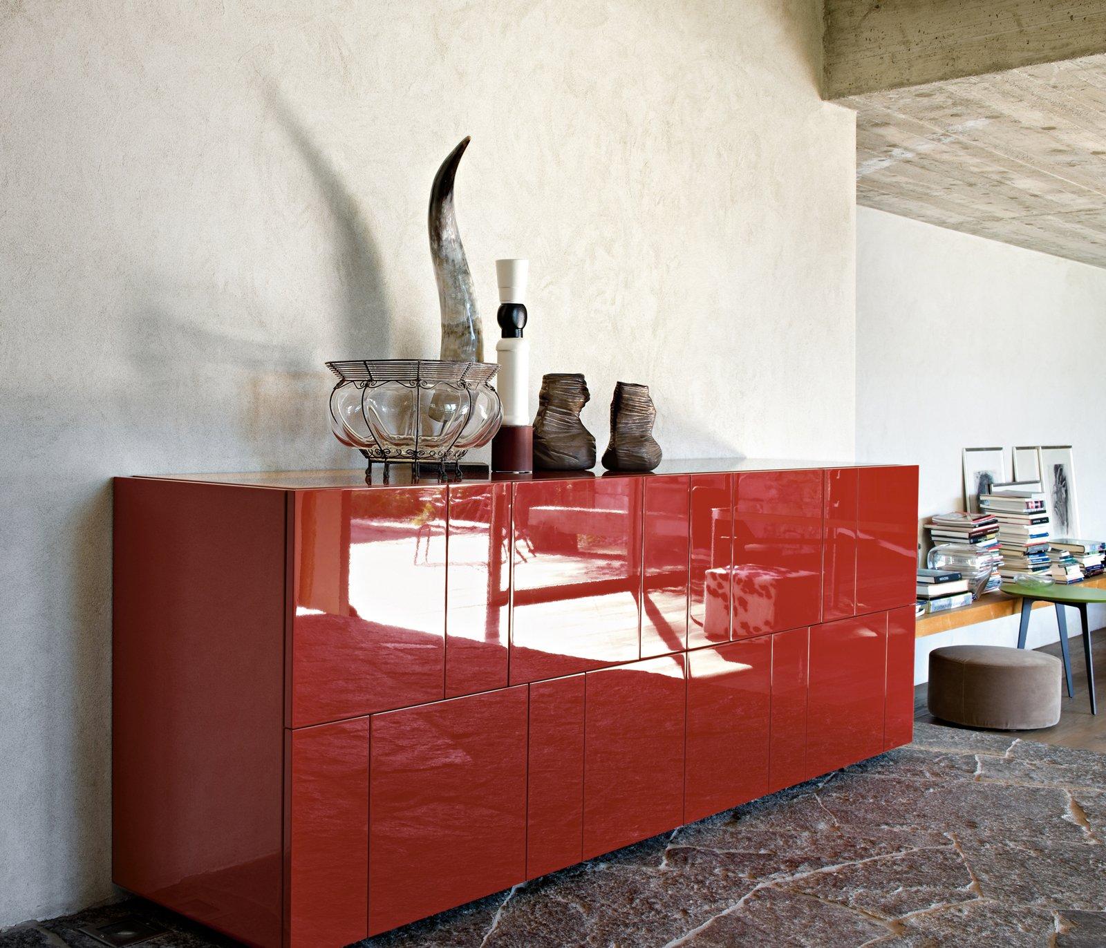 Madie cos lema le reinterpreta in chiave contemporanea for Mobili soggiorno colorati