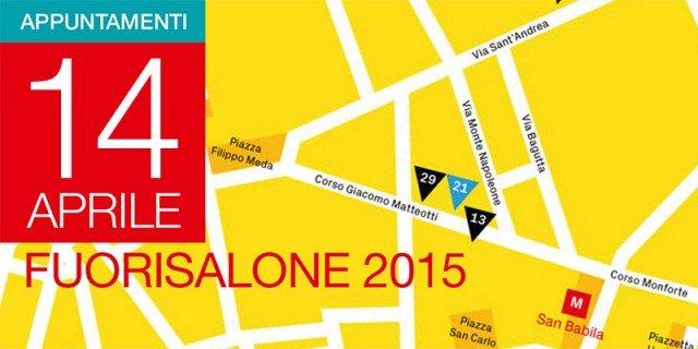 Fuorisalone 2015: gli eventi di martedì 14 aprile