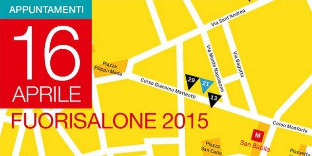 Fuorisalone 2015: gli eventi di giovedì 16 aprile
