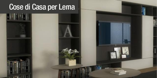 Arredare il soggiorno: il design Lema per un'atmosfera calda e accogliente