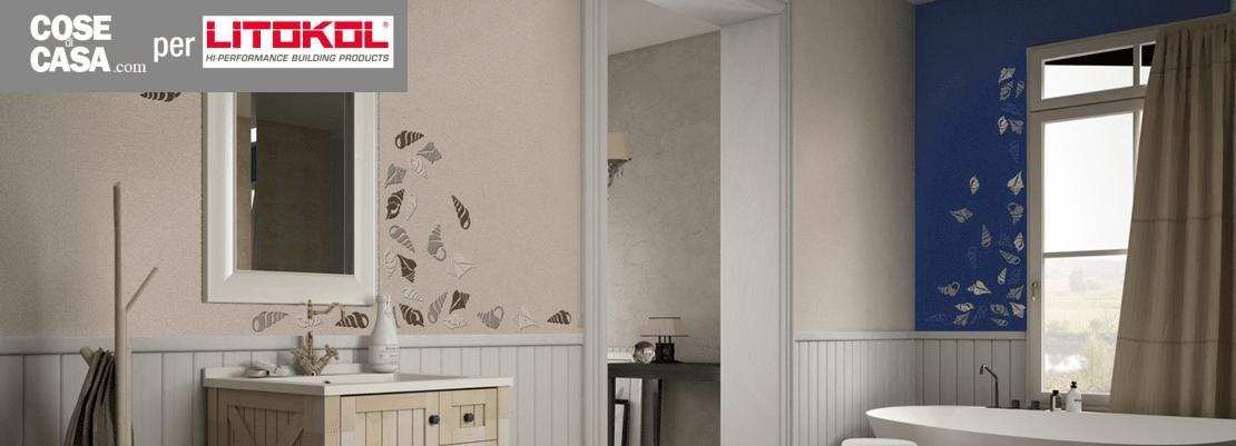Rinnovare il bagno senza togliere le piastrelle for Mattonelle per pareti