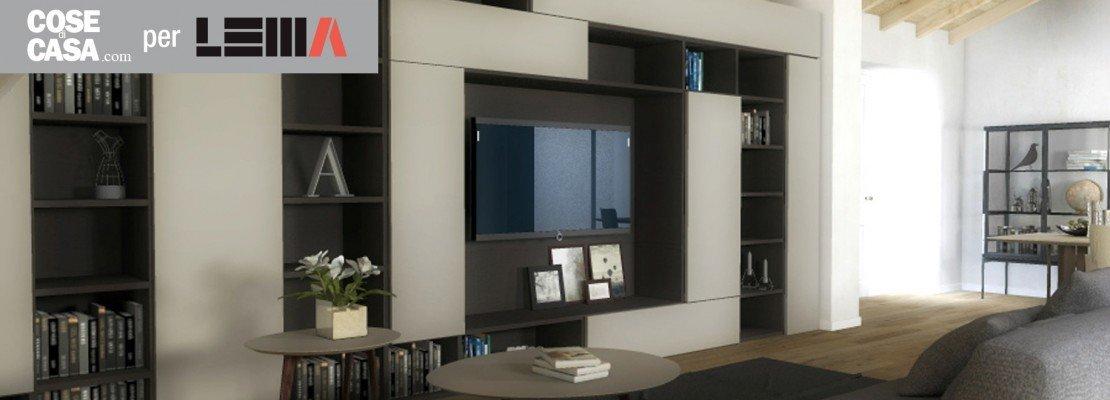 Arredare il soggiorno: il design lema per un'atmosfera calda e ...