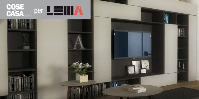Arredare il soggiorno: il design Lema per unatmosfera ...