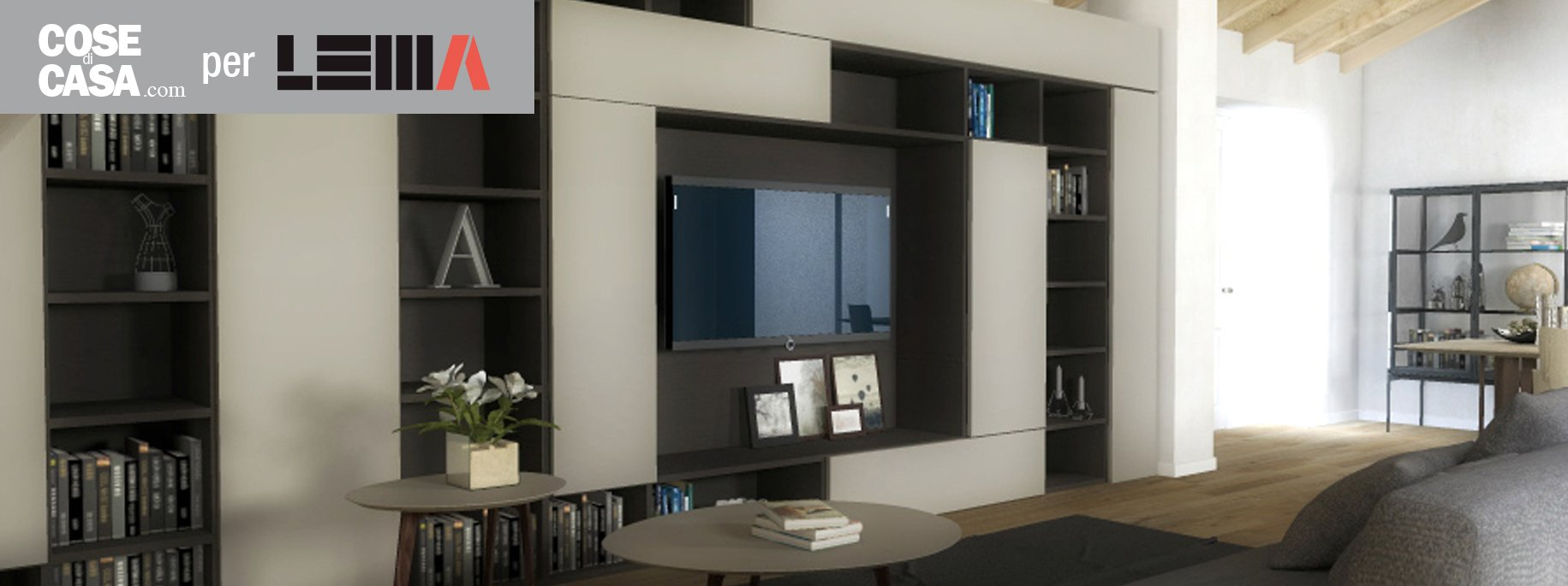 Arredare il soggiorno il design lema per un 39 atmosfera for Mobili lema soggiorno