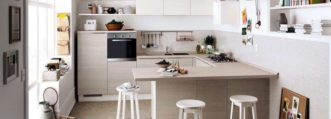 Cucine piccole complete di tutto quello cui non si pu rinunciare cose di casa - Cucine angolari piccole dimensioni ...