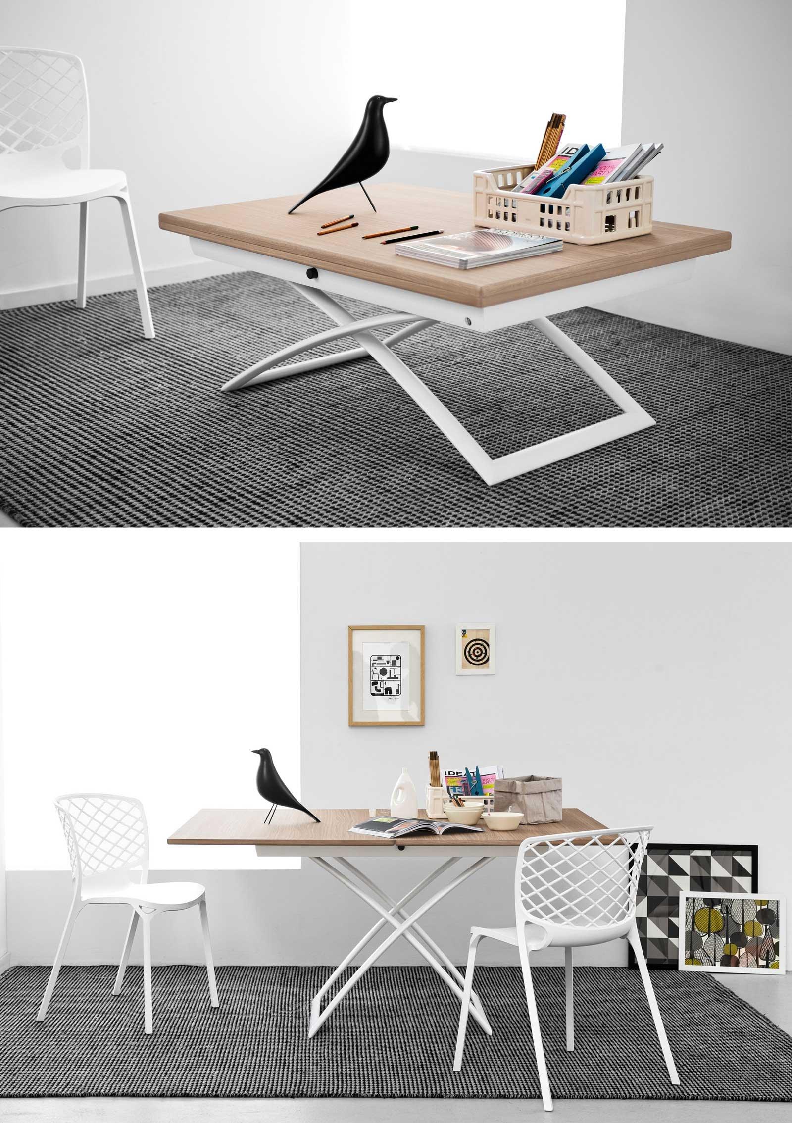 Albed Libreria Girevole Prezzo mobili salvaspazio trasformabili: due in uno - cose di casa