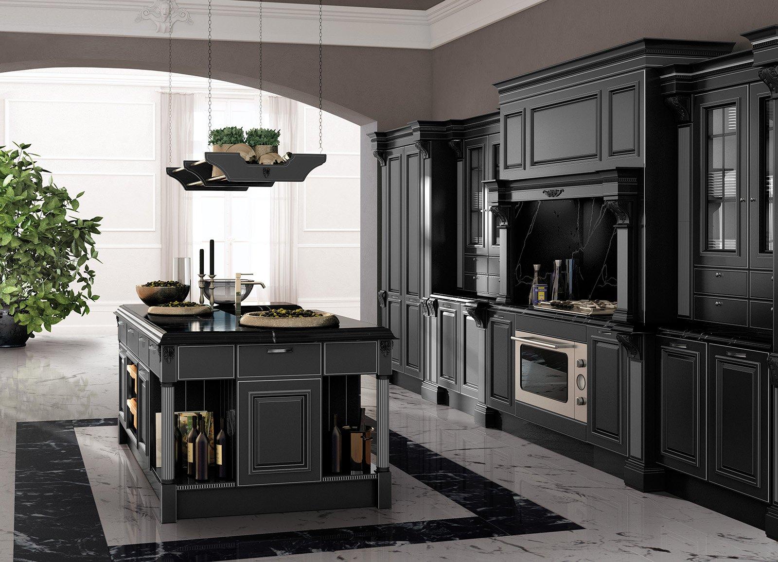 Stunning Cucine Moderne Scure Ideas - ubiquitousforeigner.us ...
