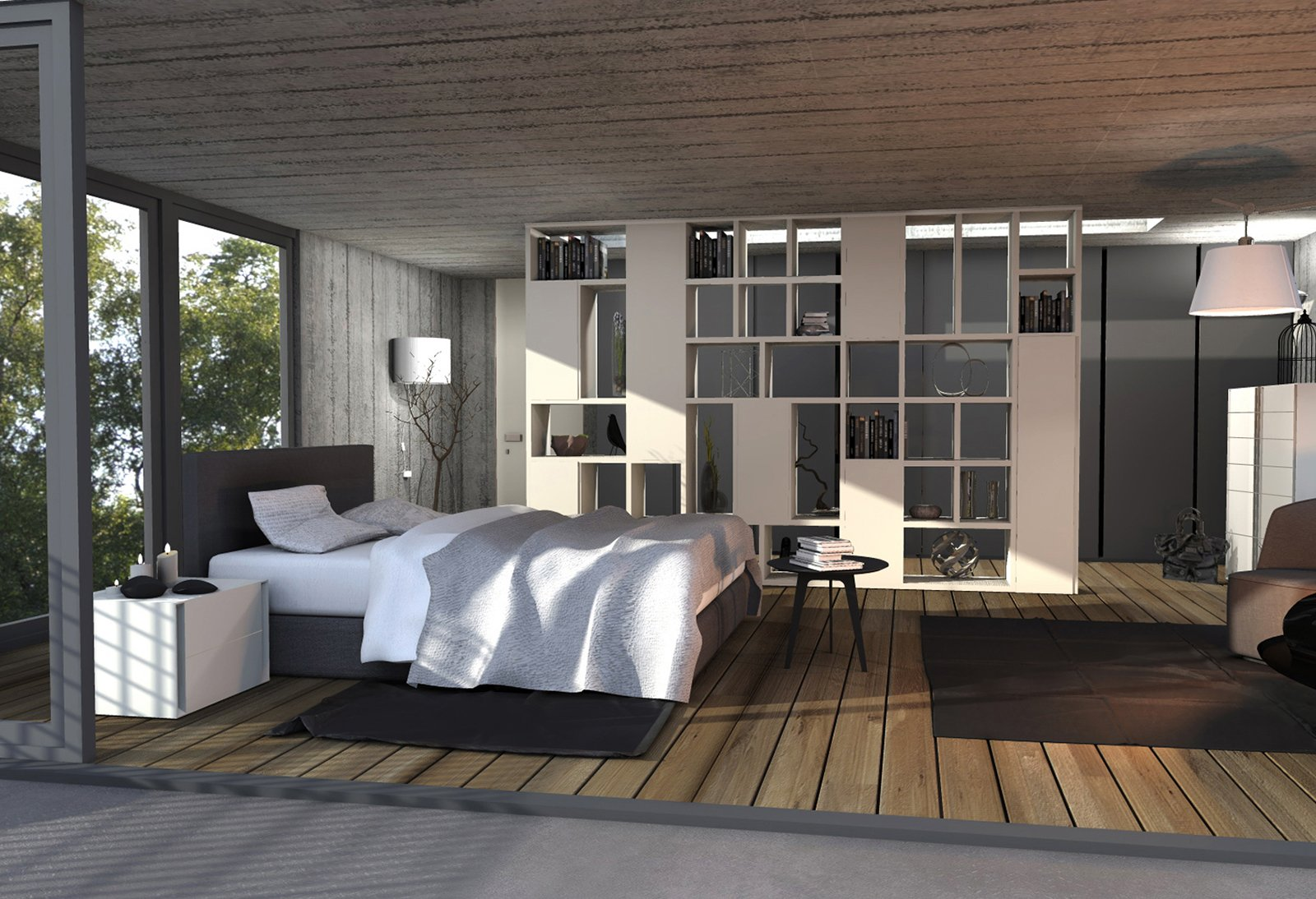 Arredare la camera da letto un progetto di interior - Progetto casa design ...