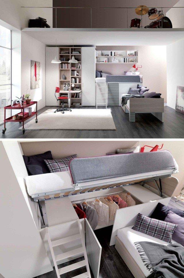 Mobili salvaspazio trasformabili due in uno cose di casa for Tavolini trasformabili ikea