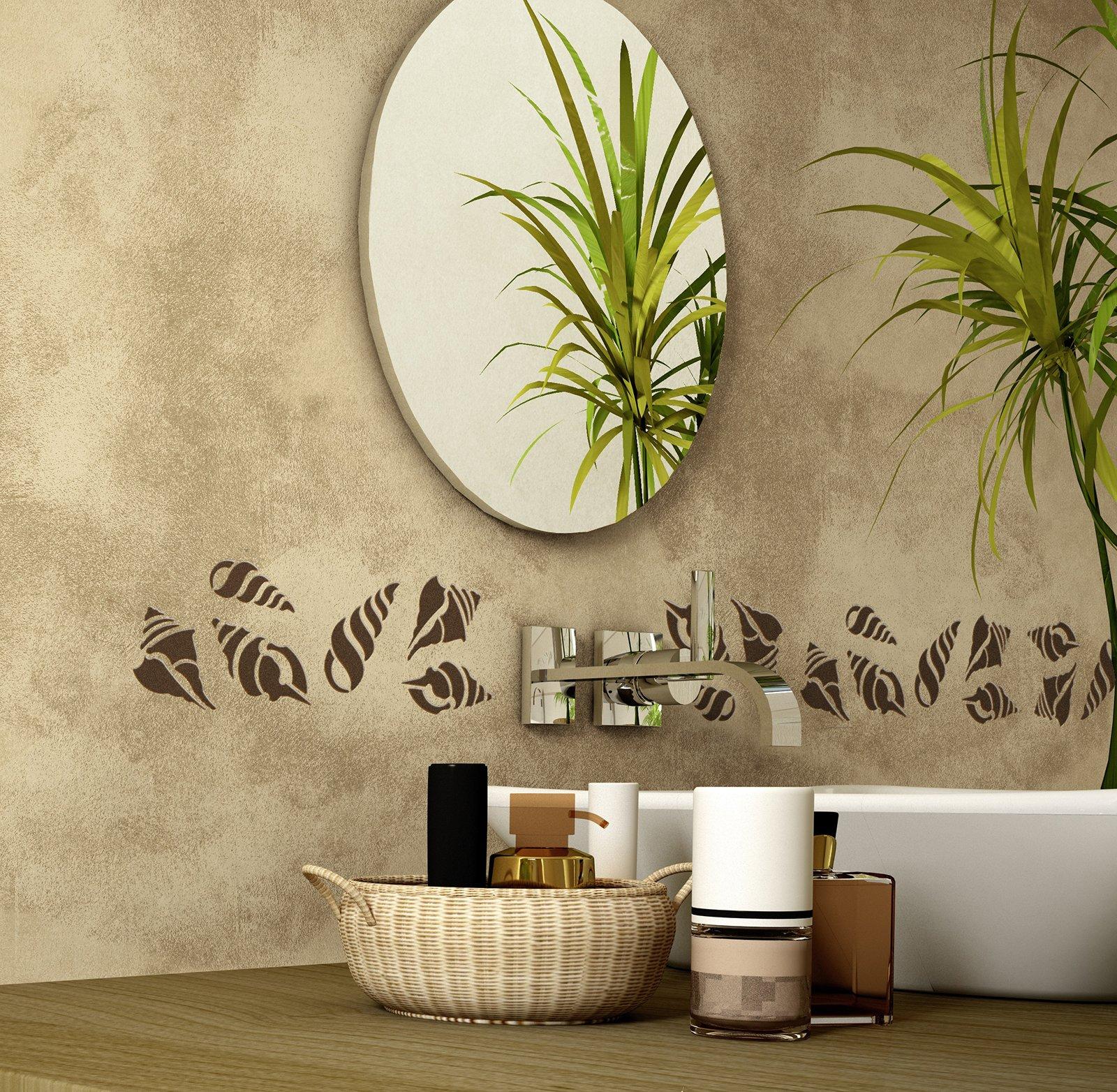 Ristrutturare il bagno dalle piastrelle allo for Immagini decorative per pareti
