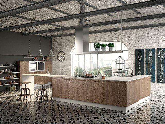 cucine industrial style cose di casa