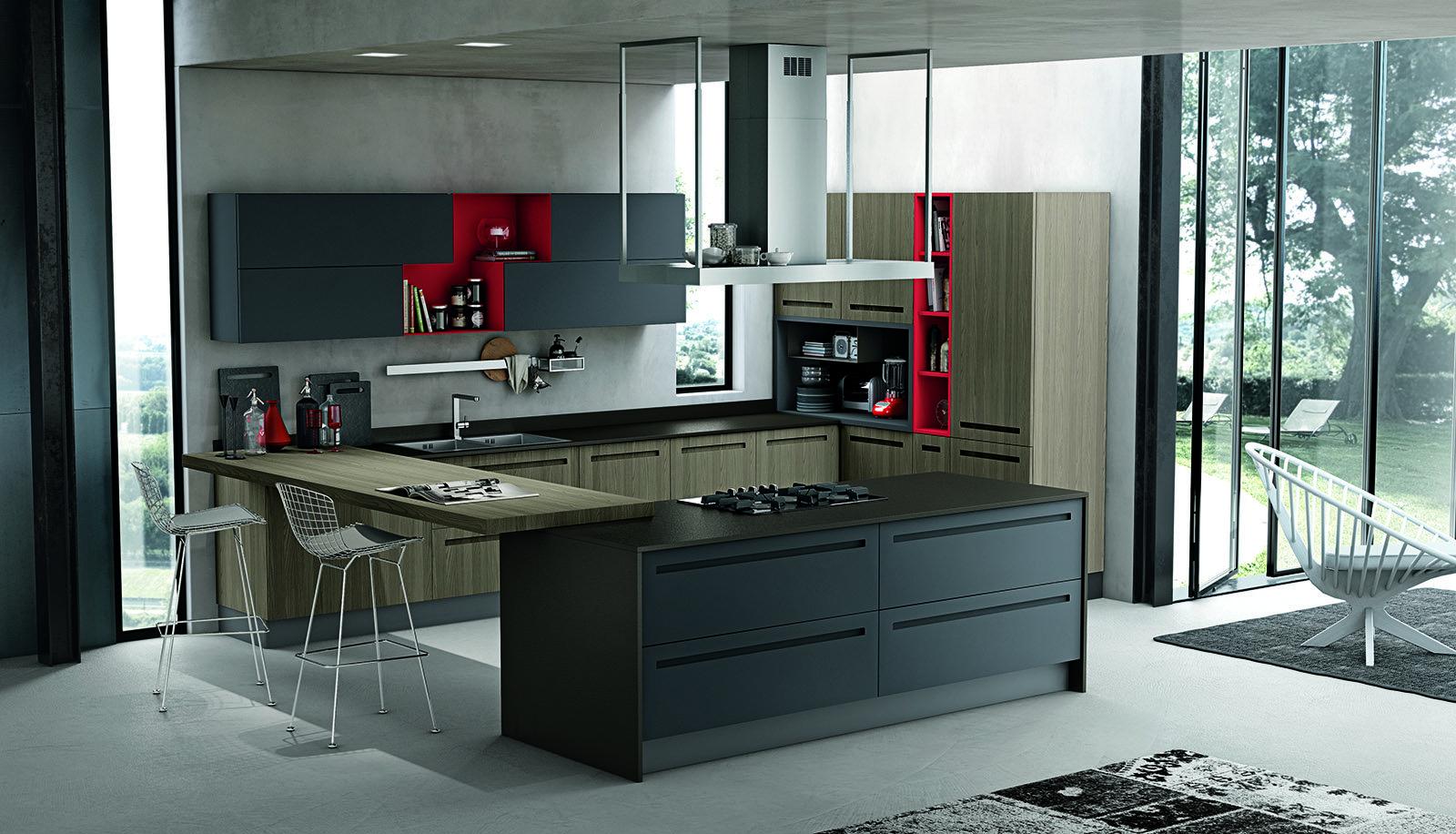 Cucine a tinte scure cose di casa - Cucine buone ...