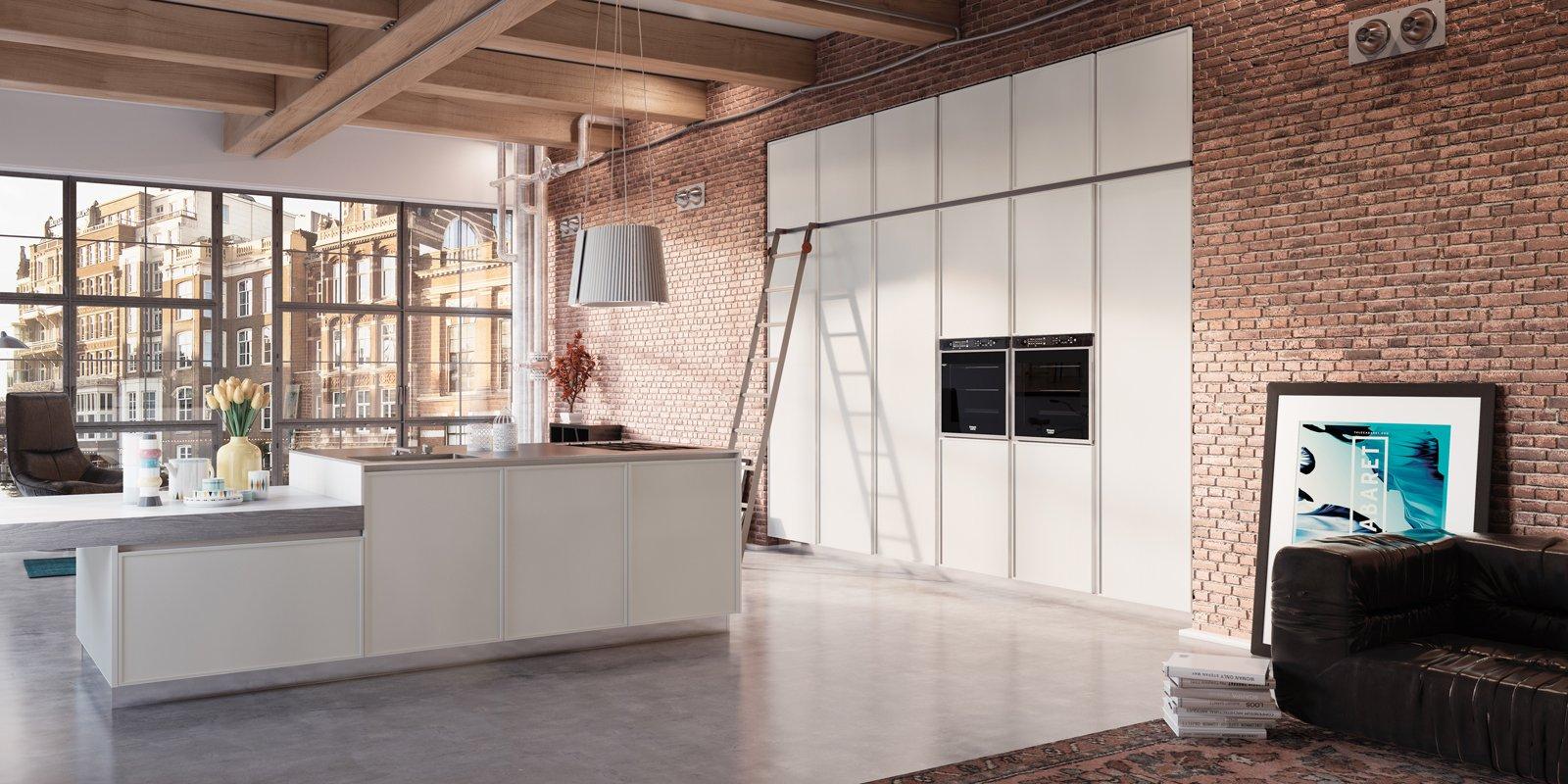 cucine con armadiature a colonna. per contenere di più - cose di casa - Cucine Incassate