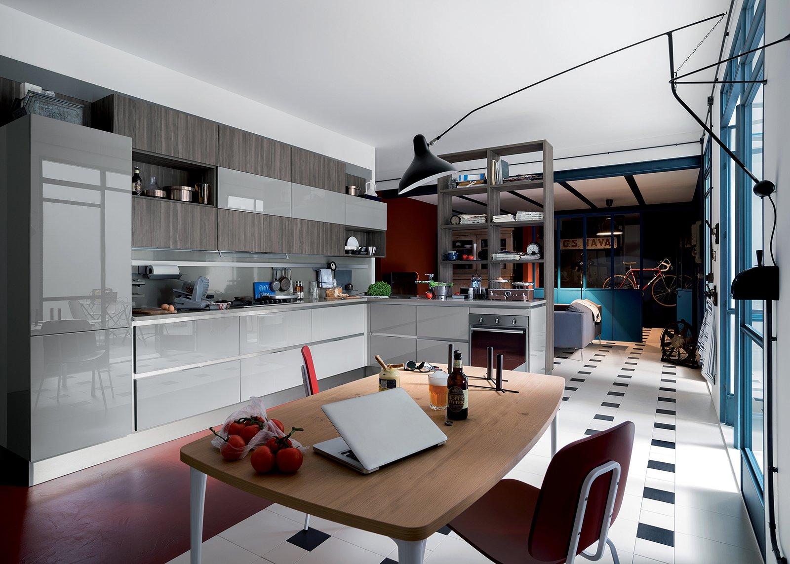 Cucine industrial style cose di casa for Cucine in stile