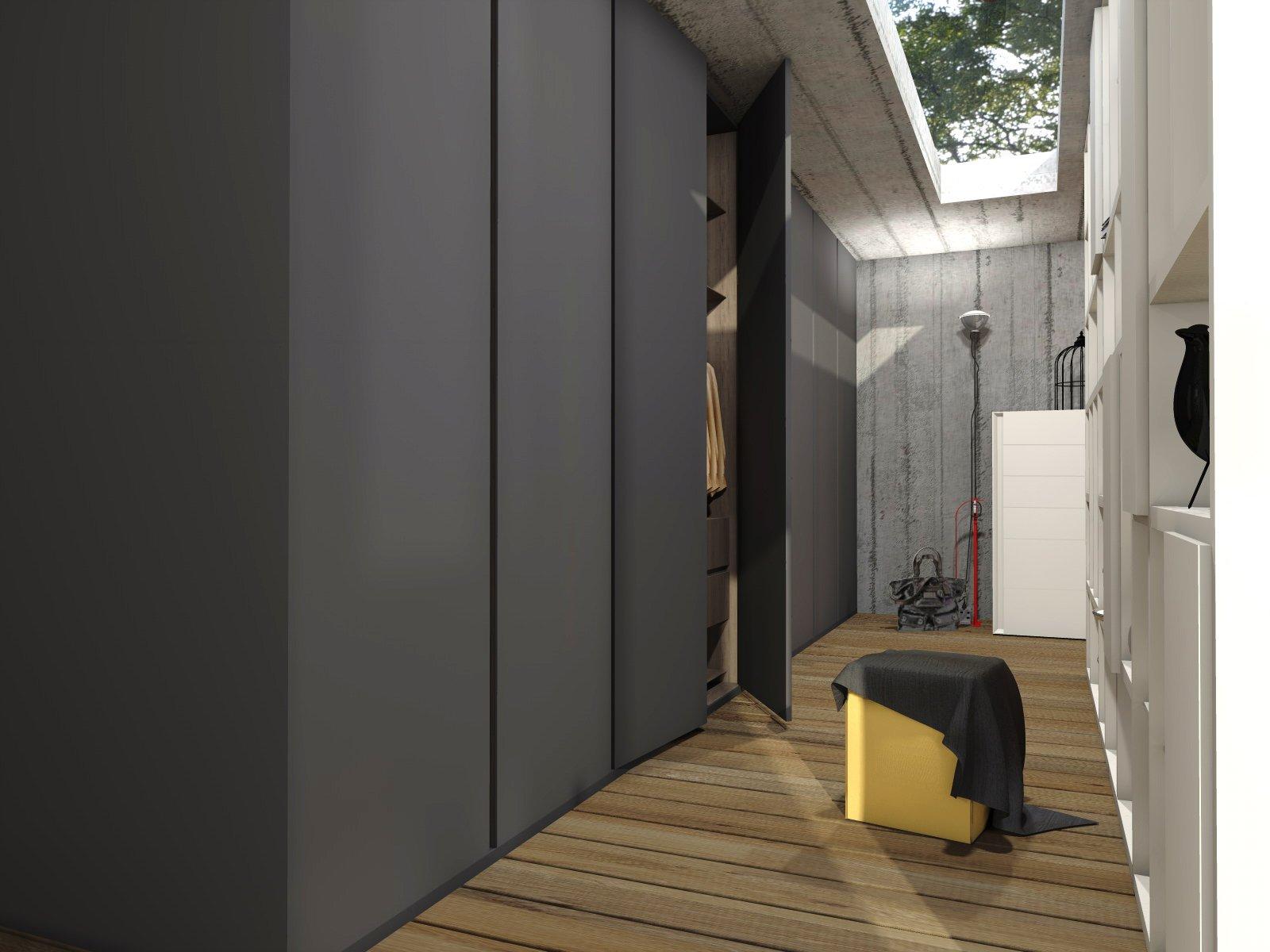 Arredare la camera da letto un progetto di interior for Armadio tessuto ikea