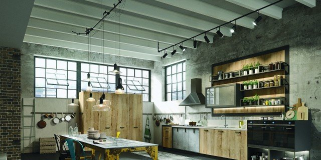Cucine industrial style