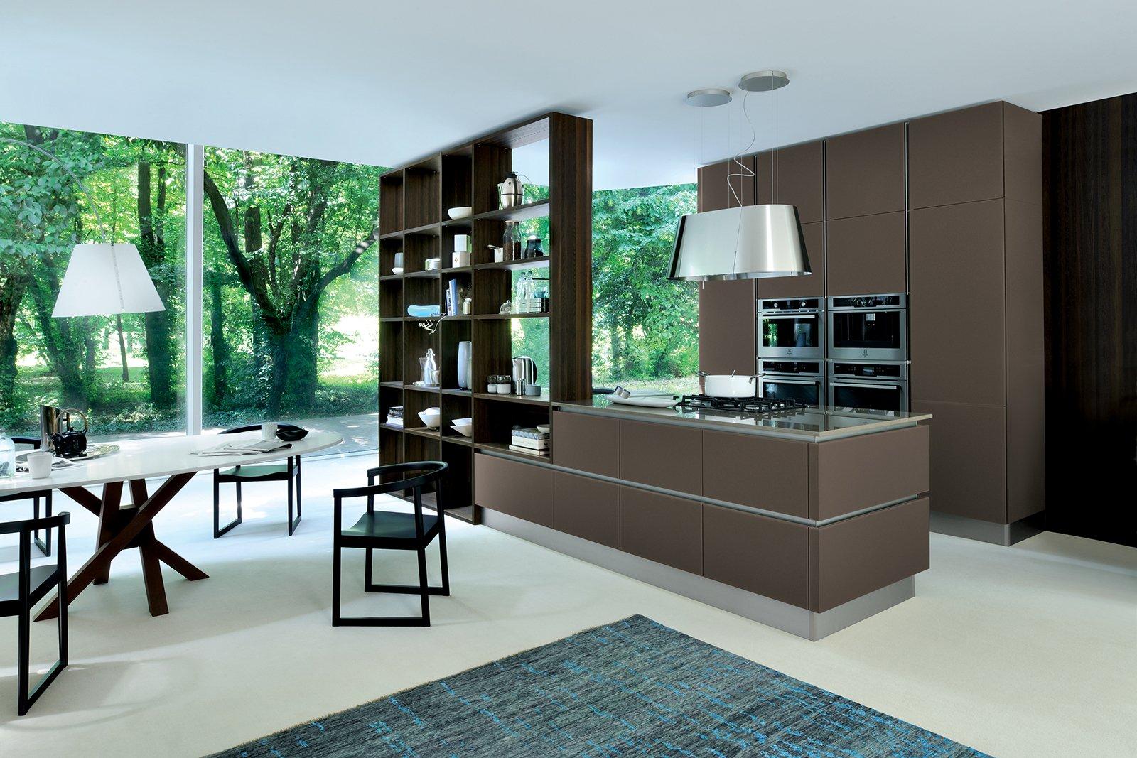 Ri Flex Di Veneta Cucine Ha Le Ante E Il Piano Realizzati In Vetro  #316F48 1600 1067 Veneta Cucine E Soggiorni