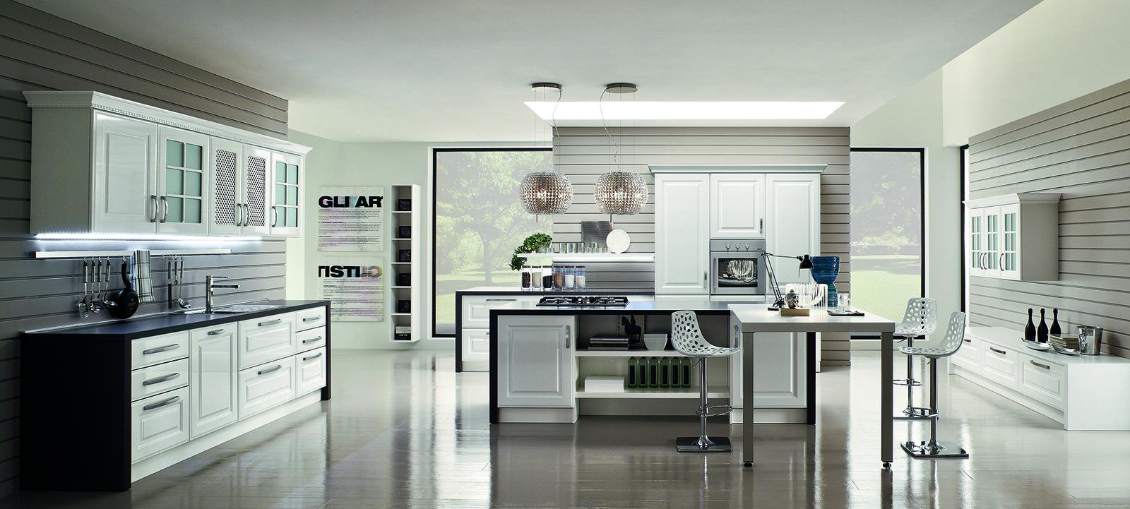 Cucine con anta bugnata cose di casa - Arrex cucine moderne ...