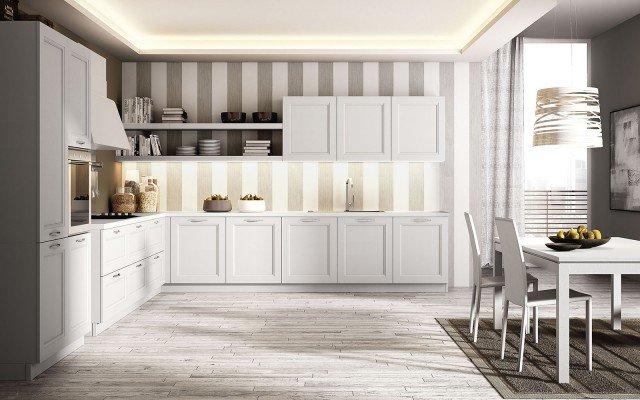 Cucine con anta bugnata cose di casa - Mobili caramel cucine ...