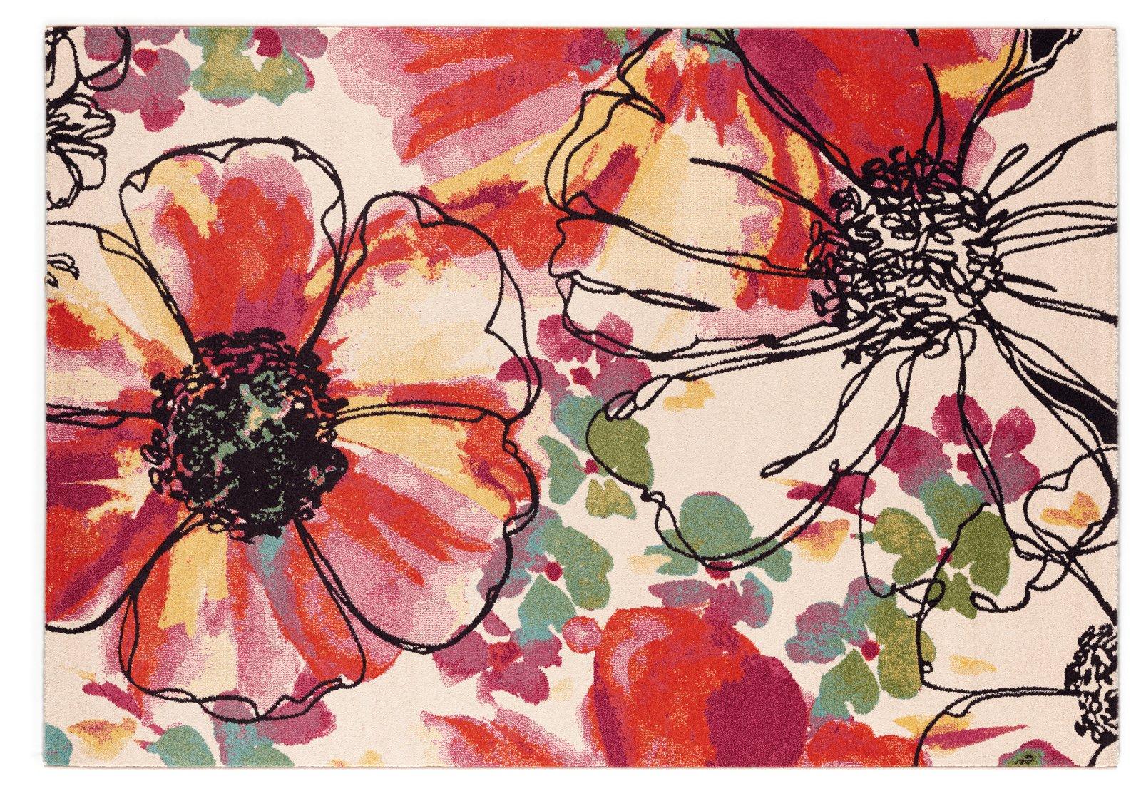 Arredare con i fiori disegnati incisi modellati cose for Fiori disegnati