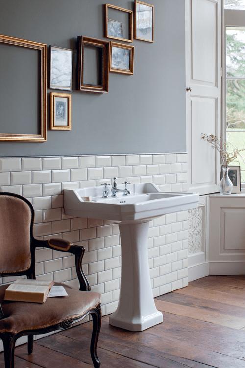 Bagno classico old style da burlington design risparmio tecnologia e qualit cose di casa - Sanitari bagno old england ...