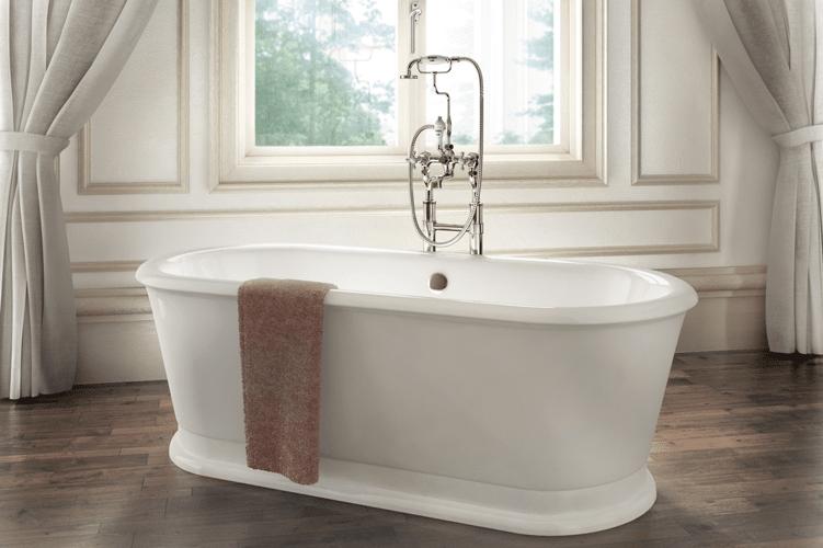 Una Vasca Da Bagno In Inglese : Bagno classico old style da burlington design risparmio