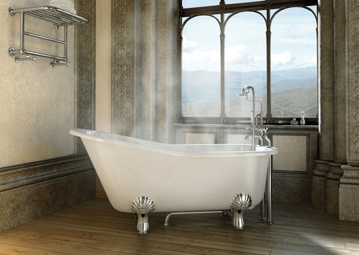 Vasca Da Bagno Old Style : Bagno con vasca da bagno vecchio stile u foto stock mrivserg