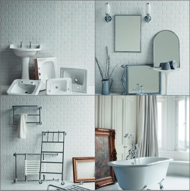 bagno classico old style da burlington design, risparmio, Disegni interni