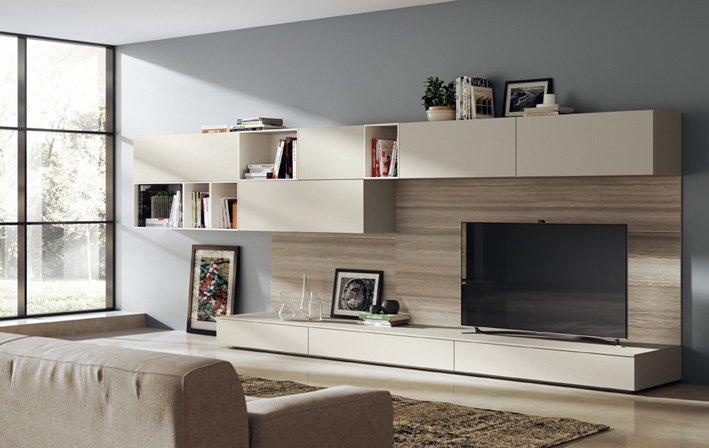 Soggiorno separato o soggiorno integrato cose di casa - Mobili living scavolini ...