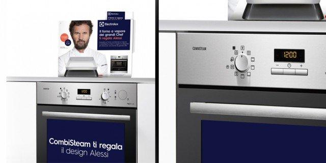 Per l'acquisto di un forno o di un piano cottura, Electrolux regala Alessi