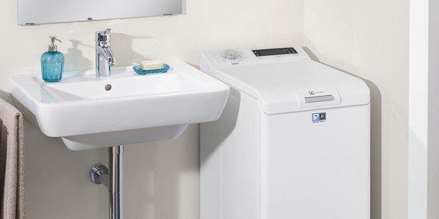 Lavatrici con carica dall 39 alto larghe anche solo 40 o 45 for Lavatrice con carica dall alto
