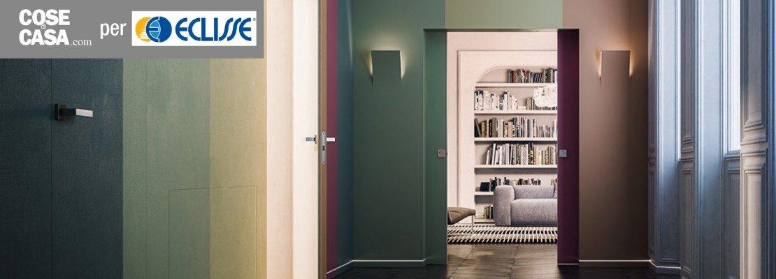 porte a scomparsa e filo muro syntesis collection di. Black Bedroom Furniture Sets. Home Design Ideas